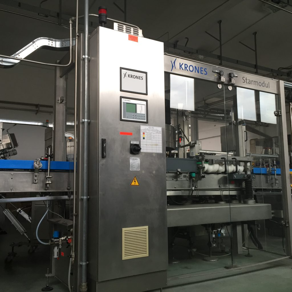 E 5 - Used labeling machine