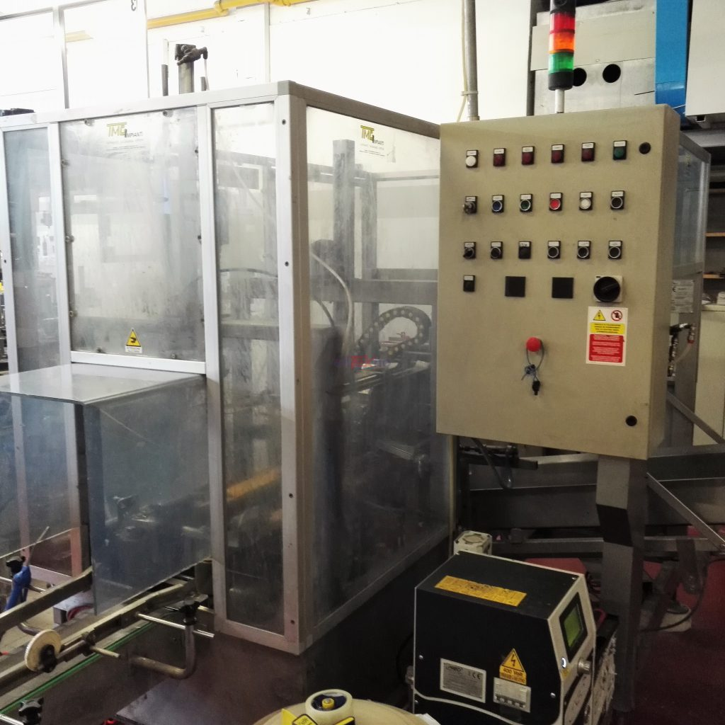Used carton forming machine TMG for 6.000 bph - ELITEKNO BOTTLING SOLUTIONS