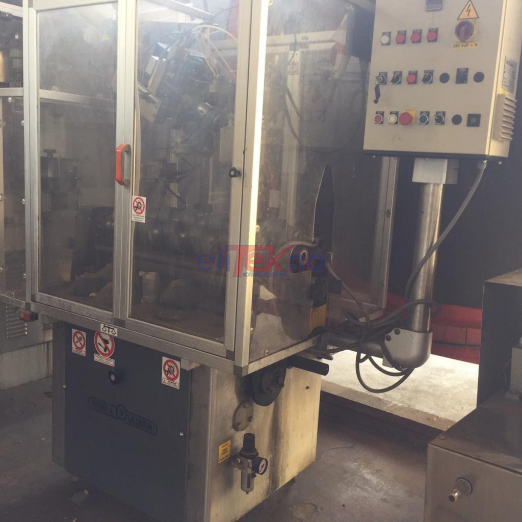 Used capsuling machine ROBINO&GALANDRINO for PVC cpsules 2.500 bph - ELITEKNO BOTTILING SOLUTIONS