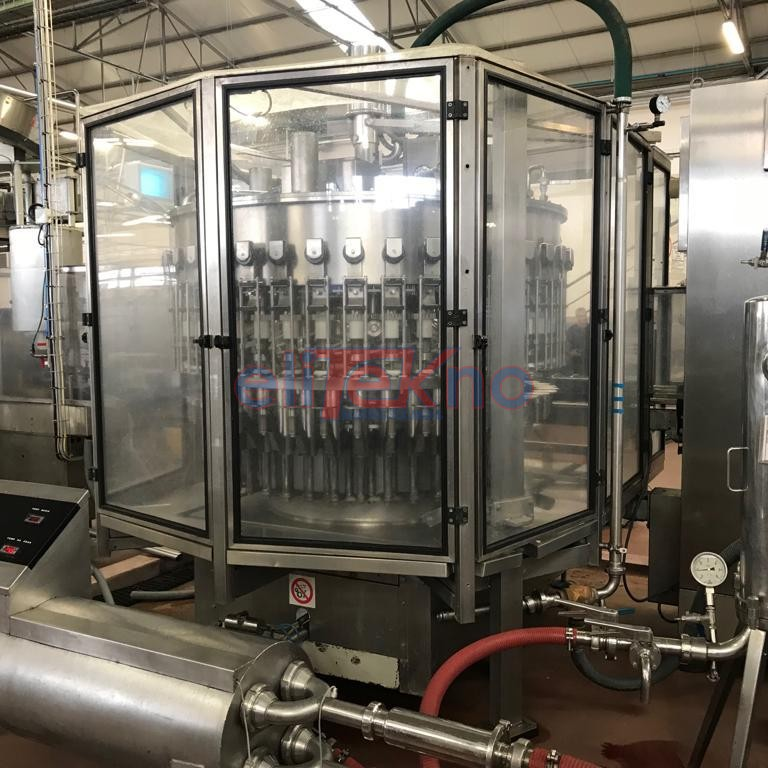 Used filler BERTOLASO 40 valves for still wine 6.000 bph - Elitekno bottling solutions