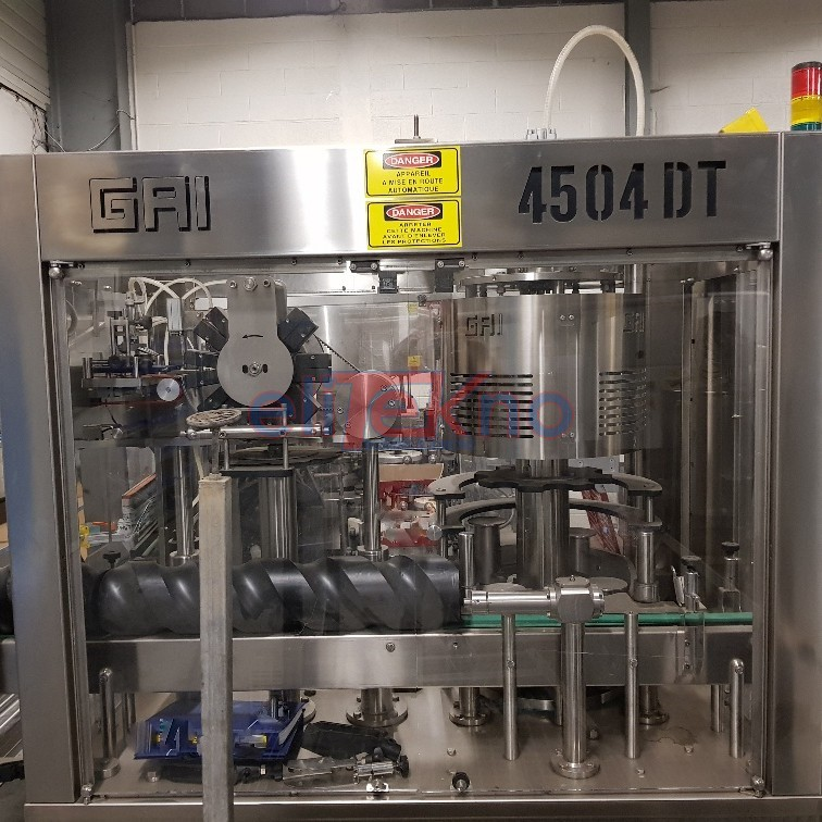Used Capsuling machine GAI - ELITEKNO BOTTLING SOLUTIONS