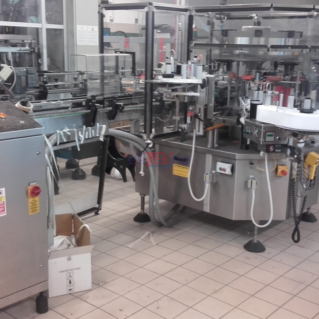 ELITEKNO BOTTLING SOLUTIONS - USED BOTTLING LINE