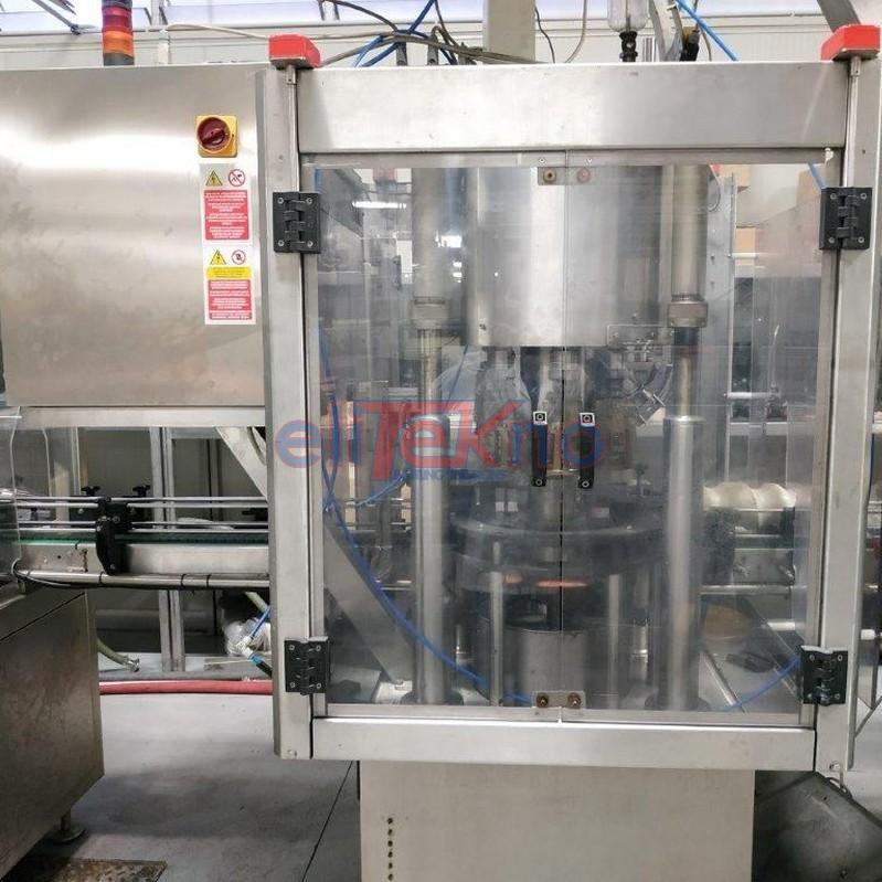 Tappatore AROL 6 teste per tappo a vite - Elitekno Bottling Solutions