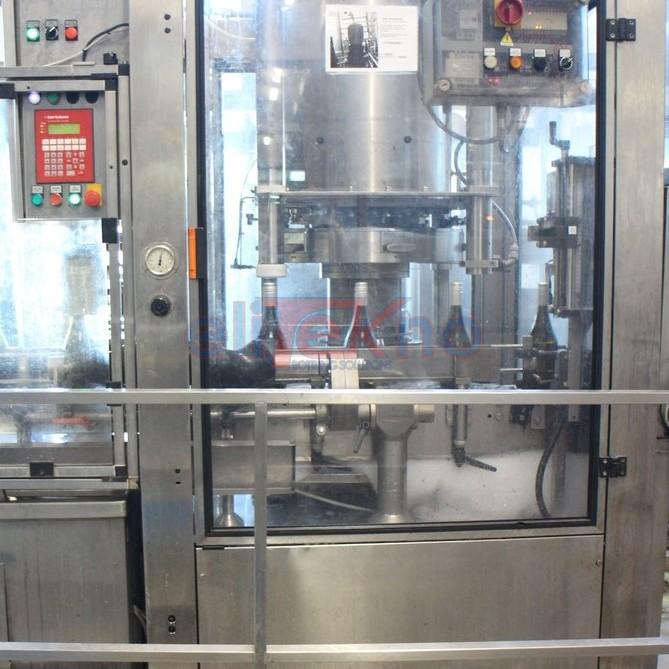 Tappatore usato BERTOLASO SIGMA 606 per tappo sughero raso e sughero fungo 8.000 bph - Used corker mushroom cork and natural straight cork (9)