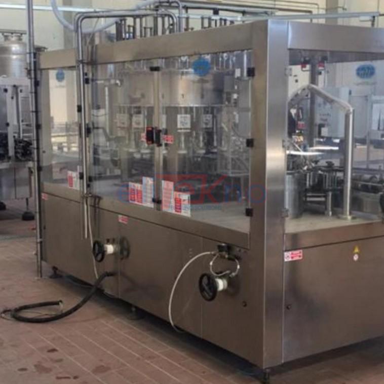 Linea di imbottigliamento usata RCM per olio in lattne e bottiglie di vetro - Used bottling line for cans and galss bottles 2.200 bph (9)