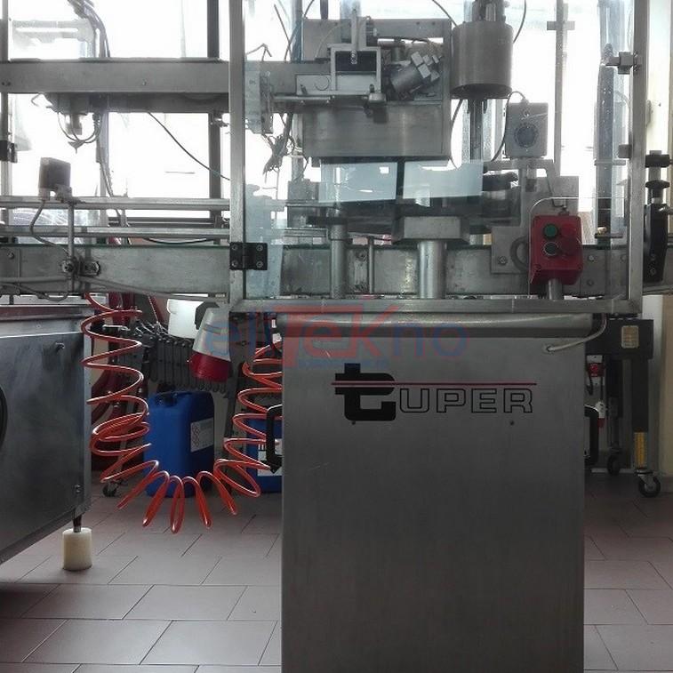 Capsulatrice usata - NORTAN - UNICAP 35 - distributore di capsule a plateau - 2.500 bph - Used capsuling machine - BC40 - Elitekno Bottling Solutions (87)