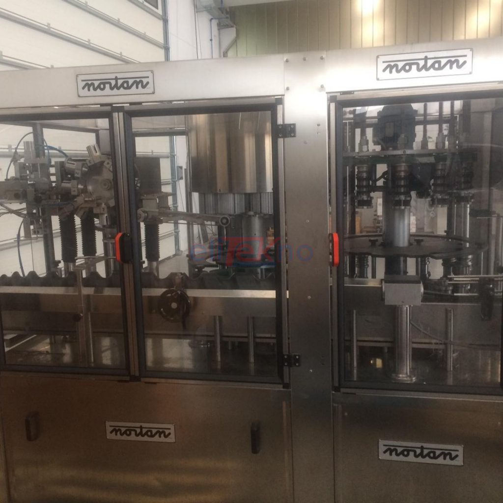 Used capsuling machine - NORTAN 8-12 - 10.000 bph - 9.000 bph - polylaminate - Capsulatrice usata - PVC polilaminato - BC 41 - (4)