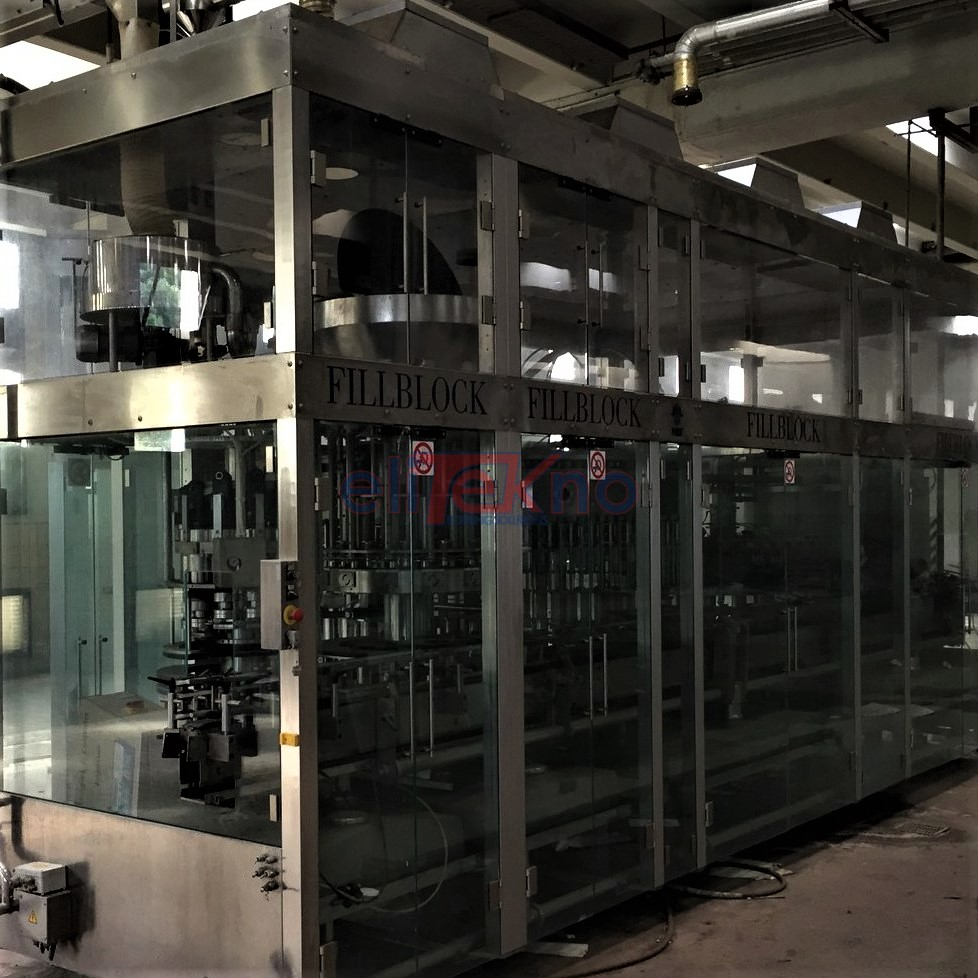 Monoblocco di riempimento usato MBF 50.70.12.10 per vino fermo 16.000 bph - elitekno bottling solutions - 00